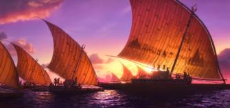 moana-we-know-the-way-music-clip-lin-manuel-miranda-opetaia-foai-te-vaka-boats-ships-sailing