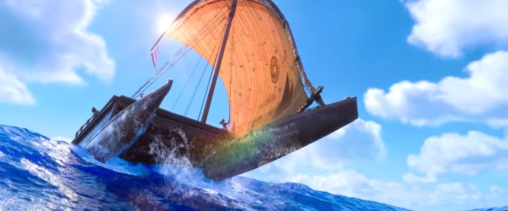 Image result for moana sailing