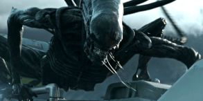 The Xenomorph finally makes an appearance